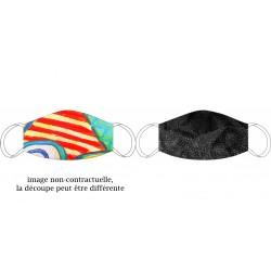 Masque en soie recto-verso Godihno - Chabaud