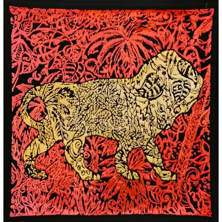 Boggio - Lion dans la jungle