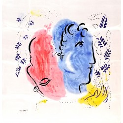 CHAGALL, Marc - Visages, 1958