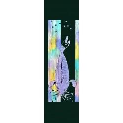 Carpe Koï - Violet-jaune