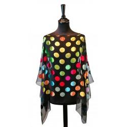 Poncho Pois 4 Multicolore