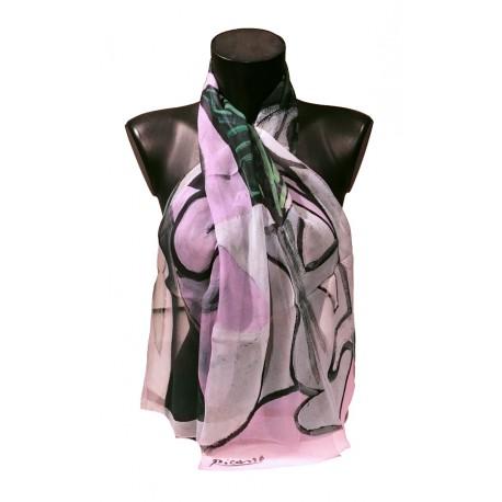 Picasso - Nu au bouquet d'iris et au mir