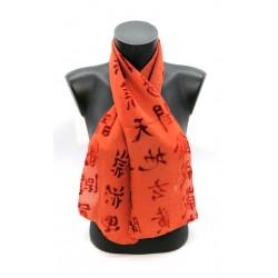 Calligraphie chinoise Orange
