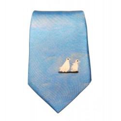 Cravate soie : Picasso - Les pigeons