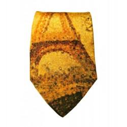Cravate soie : Seurat - La tour Eiffel