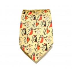 Cravate soie : Toulouse-Lautrec - Jane Avril