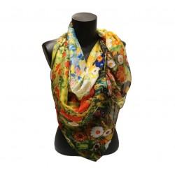 Klimt - Jardin fleuri