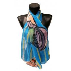 Picasso - Buste de femme au chapeau rayé